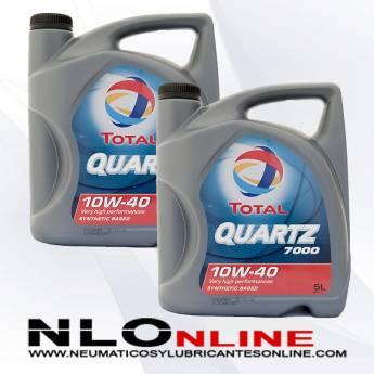 Total Quartz 7000 10W40 5L PACK X2 - 42.00 €