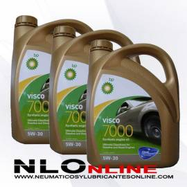 BP Visco 7000 5W30 4L OFERTA X3