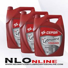 Cepsa Genuine 15W40 5L X3