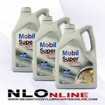 Mobil Super 3000 XE 5W30 5L PACK X3
