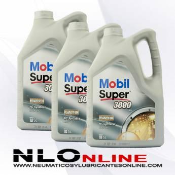 Mobil Super 3000 X1 5W40 5L PACK X3