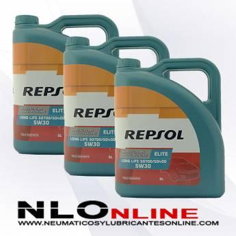 Repsol Elite Long Life 5W30 507/400 5L OFERTA X3
