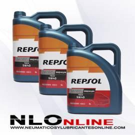 Repsol Premium Tech 5W40 5L OFERTA X3