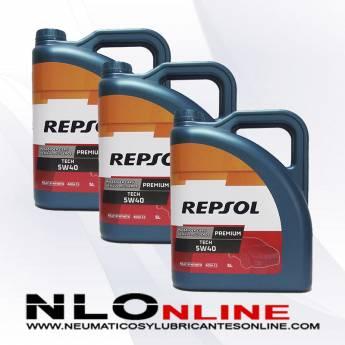 Repsol Premium Tech 5W40 5L PACK X3 - 60.00 €