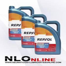 Repsol Elite Competición 5W40 5L OFERTA X3