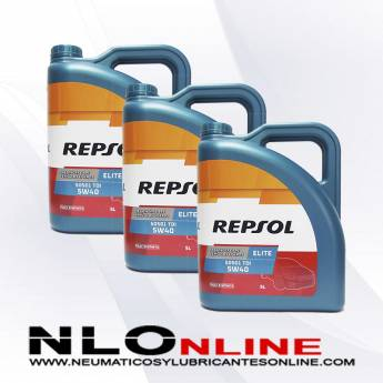 Repsol Elite TDI 5W40 505.01 5L PACK X3 - 66.00 €