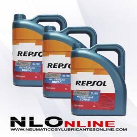 Repsol Elite Multivalvulas 10W40 5L OFERTA X3