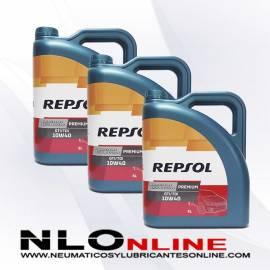 Repsol Premium TDI-GTI 10W40 5L OFERTA X3