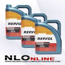 Repsol Premium TDI-GTI 15W40 5L OFERTA X3