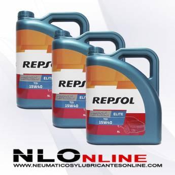 Repsol Elite TDI 15W40 5L PACK X3 - 58.50 €