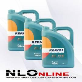 Repsol Elite Super 20W50 5L OFERTA X3