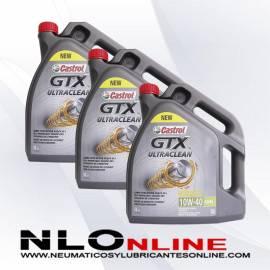 Castrol GTX ULTRACLEAN 10W40 A3/B4 5L OFERTA X3