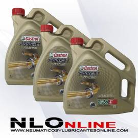 Castrol Power 1 Racing 4T 10W50 4L OFERTA X3