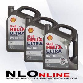 Shell Helix Ultra Professional 0W30 AV-L 5L OFERTA X3