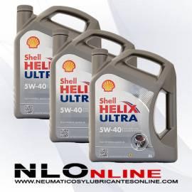 Shell Helix Ultra 5W40 5L OFERTA X3