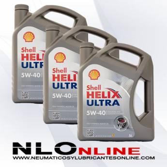 Shell Helix Ultra 5W40 5L PACK X3 - 84.00 €