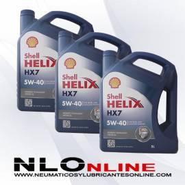 Shell Helix HX7 5W40 5L OFERTA X3