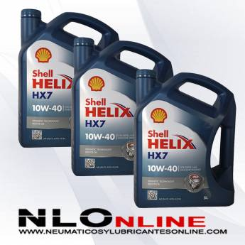 Shell Helix HX7 10W40 5L PACK X3 - 60.00 €
