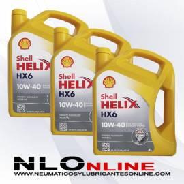 Shell Helix HX6 10W40 5L OFERTA X3