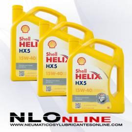 Shell Helix HX5 15W40 5L OFERTA X3