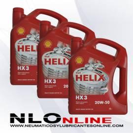 Shell Helix HX3 20W50 5L OFERTA X3