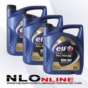 Elf Evolution FULL-TECH FE 5W30 5L PACK X3 - 82.50 €