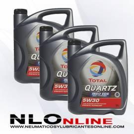 Total Quartz Ineo ECS 5W30 5L OFERTA X3