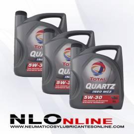 Total Quartz Ineo MC3 5W30 5L OFERTA X3