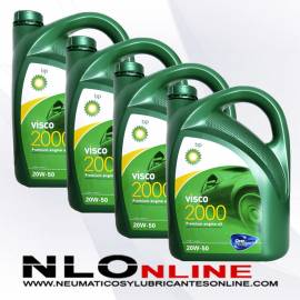 Bp Visco 2000 20W50 5L OFERTA X4