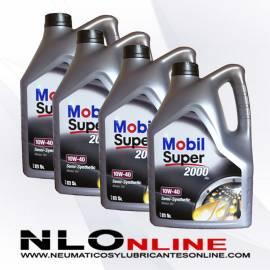 Mobil Super 2000 X1 10W40 5L OFERTA X4