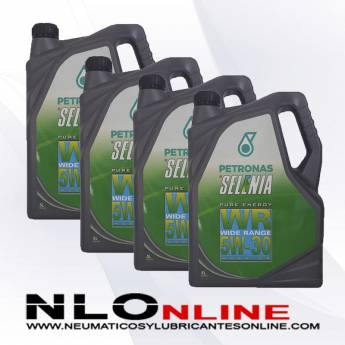 Selenia Pure Energy WR 5W30 5L PACK X4 - 136.00 €