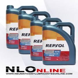 Repsol Elite Evolution Longlife 5W30 5L OFERTA X4