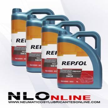 Repsol Premium Tech 5W30 5L PACK X4