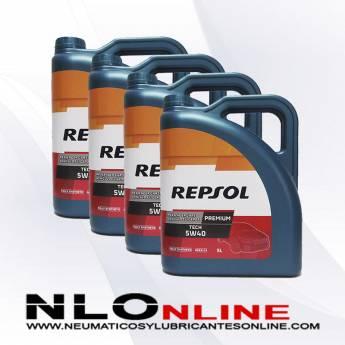 Repsol Premium Tech 5W40 5L PACK X4 - 78.00 €