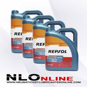 Repsol Elite TDI 5W40 505.01 5L PACK X4