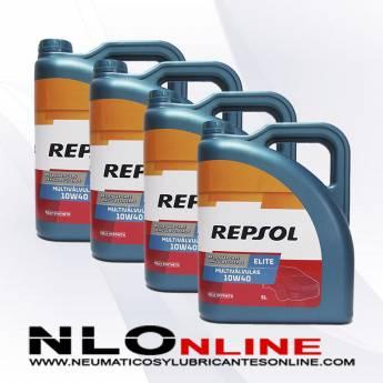 Repsol Elite Multivalvulas 10W40 5L PACK X4 - 80.00 €
