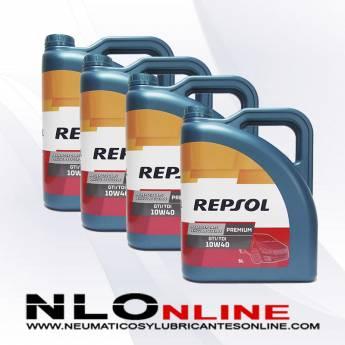 Repsol Premium TDI-GTI 10W40 5L OFERTA X4