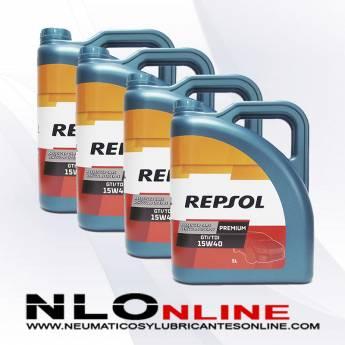 Repsol Premium TDI-GTI 15W40 5L PACK X4