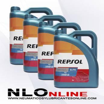 Repsol Elite TDI 15W40 5L PACK X4 - 76.00 €
