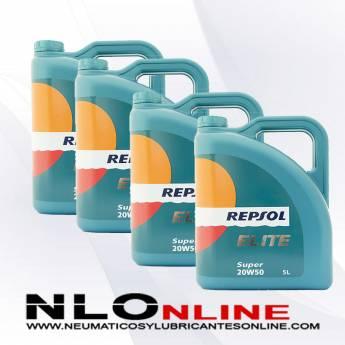 Repsol Elite Super 20W50 5L PACK X4 - 78.00 €