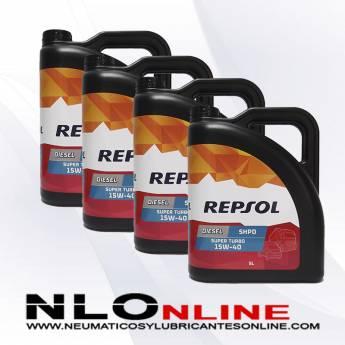 Repsol Diesel Super Turbo SHPD 15W40 5L PACK X4 - 74.00 €