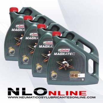 Castrol Magnatec 5W40 C3 4L PACK X4 - 88.00 €