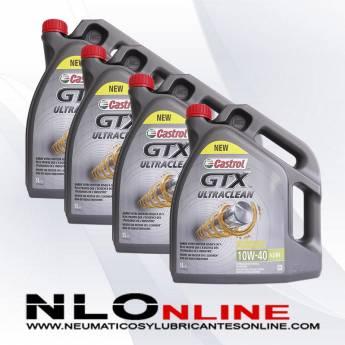 Castrol GTX ULTRACLEAN 10W40 A3/B4 5L PACK X4 - 84.00 €