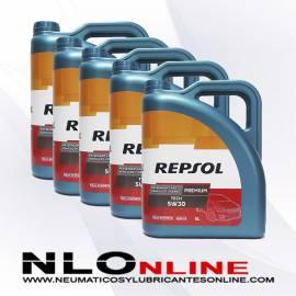 Repsol Premium Tech 5W30 5L OFERTA X5