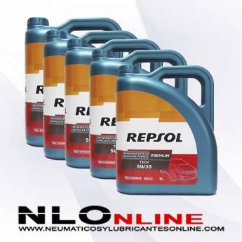 Repsol Premium Tech 5W30 5L PACK X5