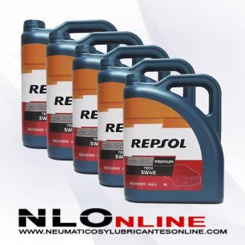 Repsol Premium Tech 5W40 5L PACK X5