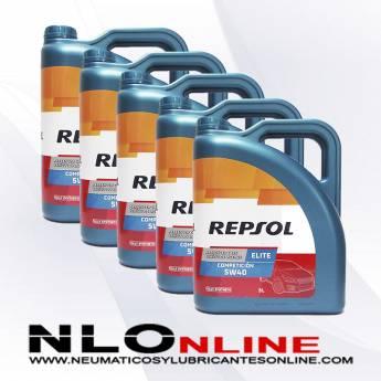 Repsol Elite Competición 5W40 5L PACK X5