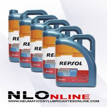 Repsol Elite TDI 5W40 505.01 5L PACK X5