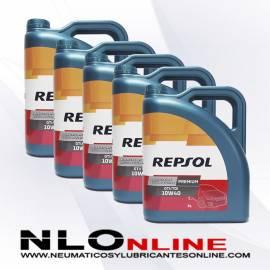 Repsol Premium TDI-GTI 10W40 5L OFERTA X5