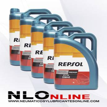 Repsol Premium TDI-GTI 15W40 5L PACK X5